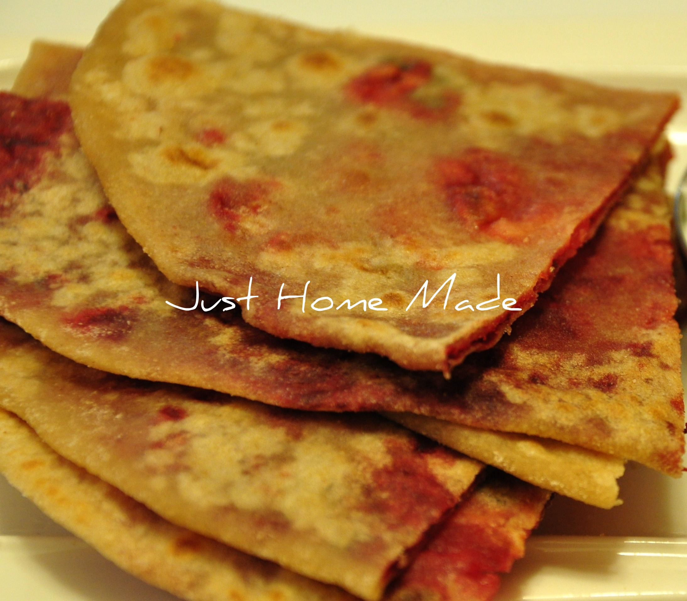 Mixed Flour & Root Vegetables Paratha/Flatbread Recipe — Dishmaps