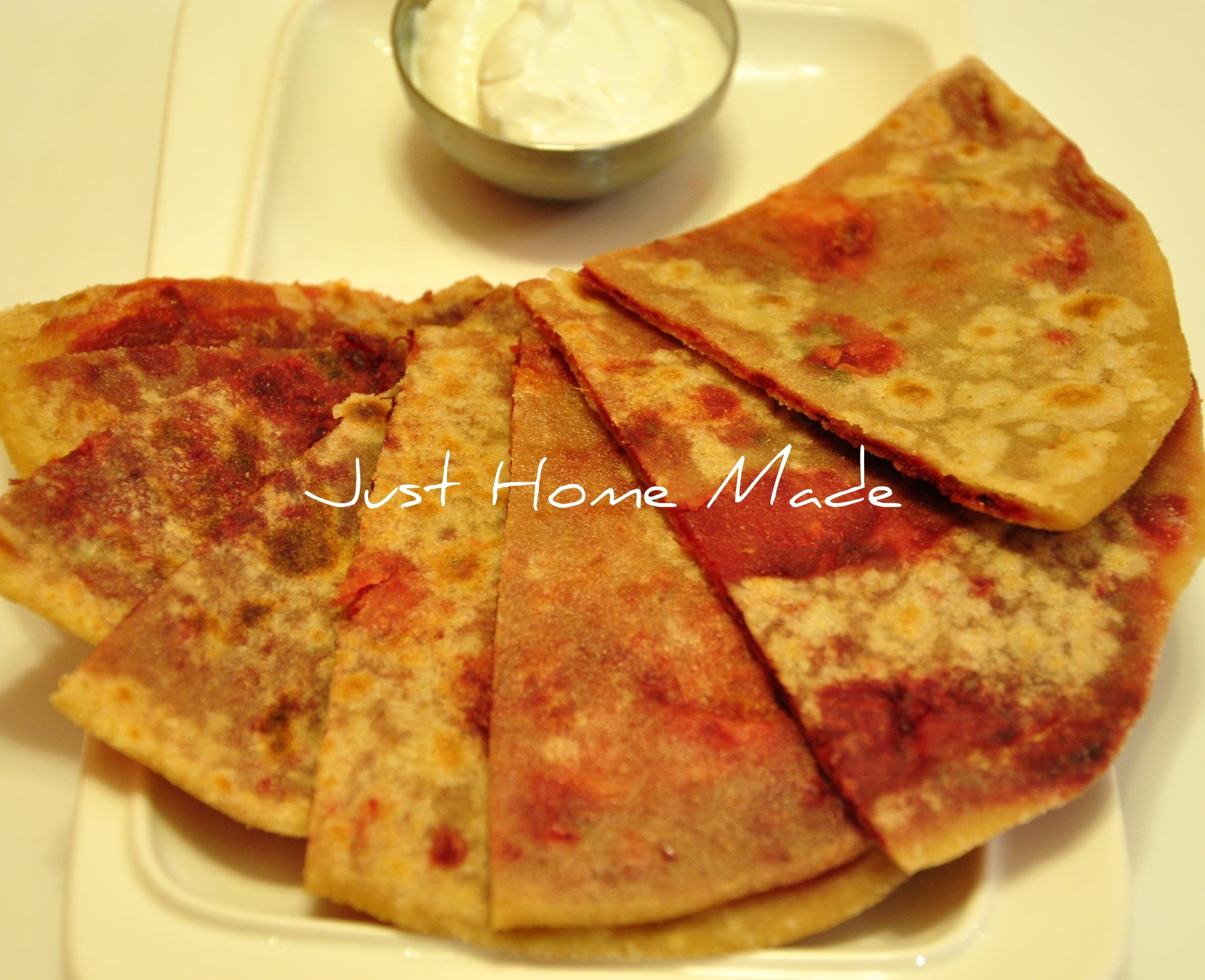 Mixed Flour & Root Vegetables Paratha/Flatbread Recipe ...