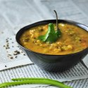 Dal with five spices