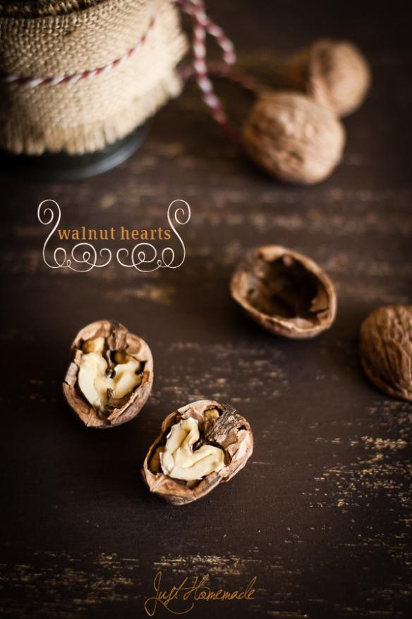 walnut hearts