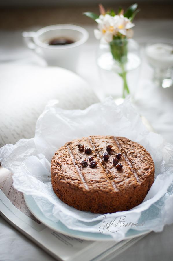 Prune Cake closeup