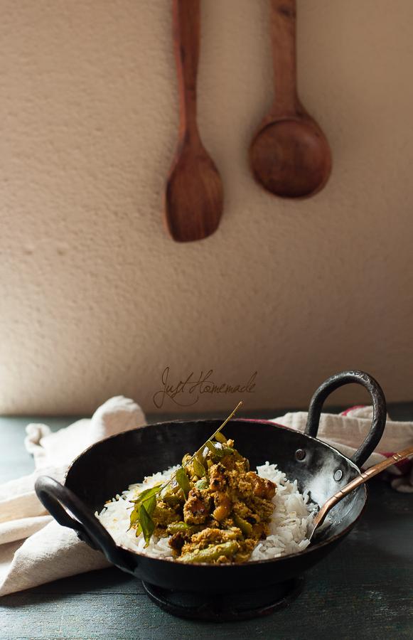 Tindora Mustard Rice