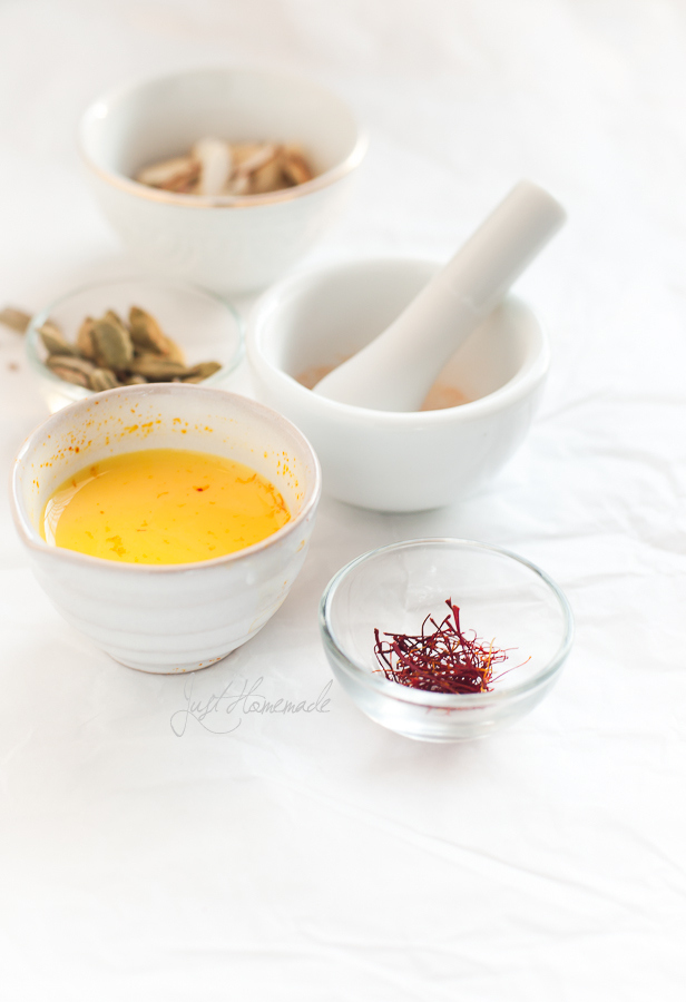 saffron and milk